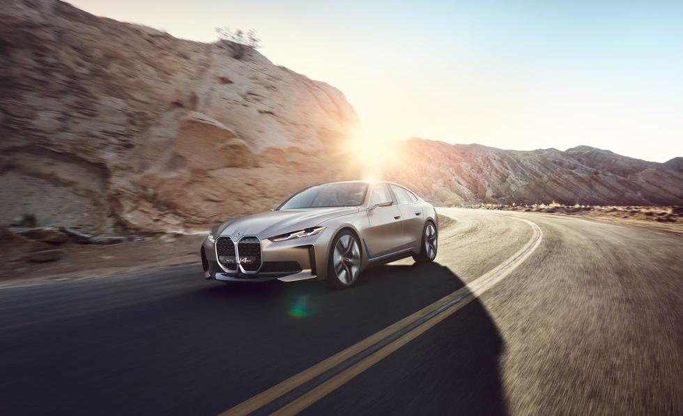 BMW i4, el futuro de la marca en un sólo auto - bmw-i4