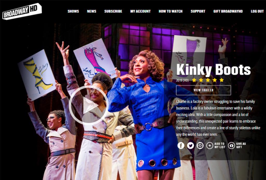 Podrás ver los musicales de Broadway durante esta época de aislamiento - broadway-hd-2