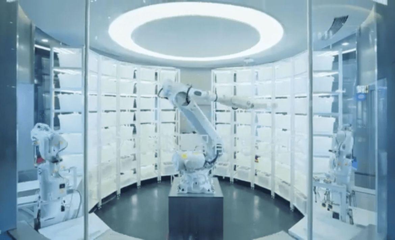 Huawei abre una tienda atendida por robots en China - huawei