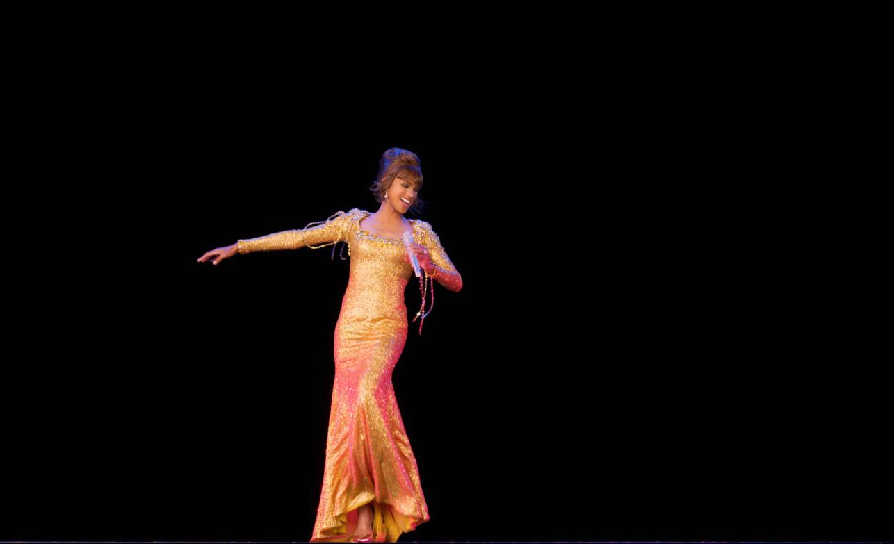 Así es como se vive el concierto del holograma de Whitney Houston