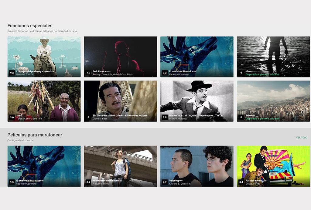 Encuentra lo mejor del Cine Mexicano en este proyecto de IMCINE - cinema-mx-2
