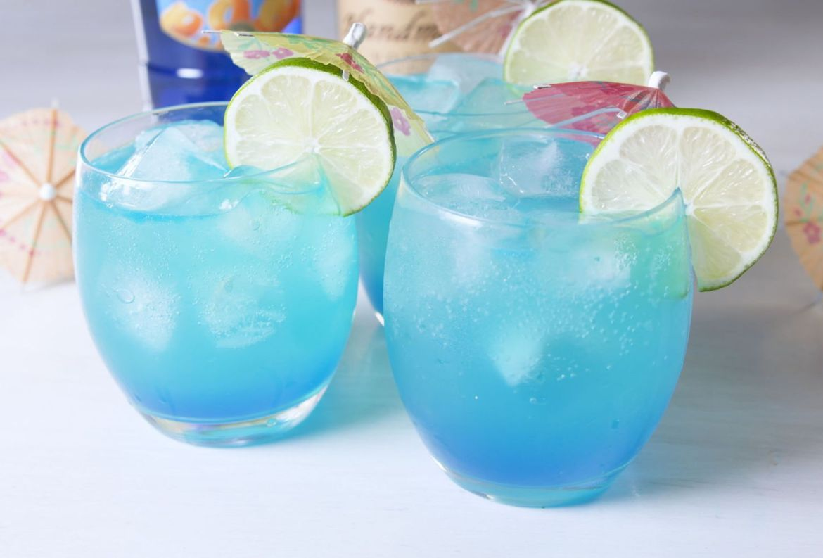 Mermaid Lemonade, una bebida tropical para chicos y grandes - receta-limonada-de-sirena