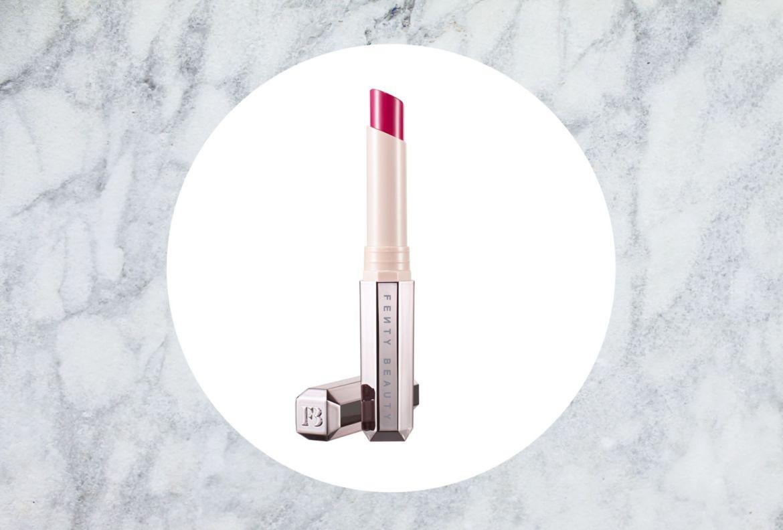 5 colores para labios que mejorarán tu estado de ánimo como por arte de magia - fenty-beauty-mattemoiselle-plush-matte-lipstick