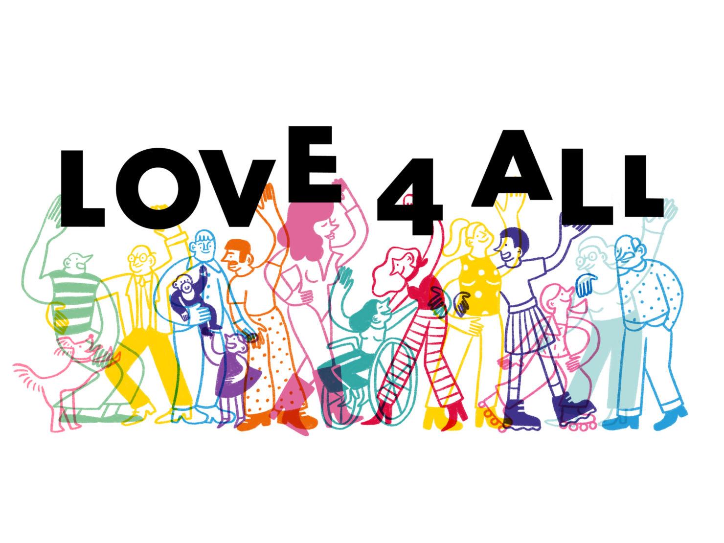 ¡Love 4 All celebrará su 3ra edición en línea! Encuentra aquí todos los detalles