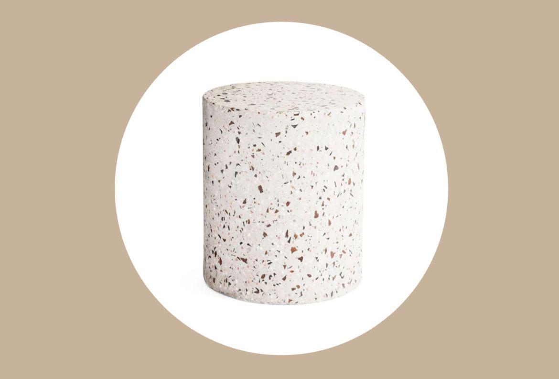 10 formas de unirte a la tendencia e incluir el Terrazzo en tu decoración - mesa-de-centro-terrazzo