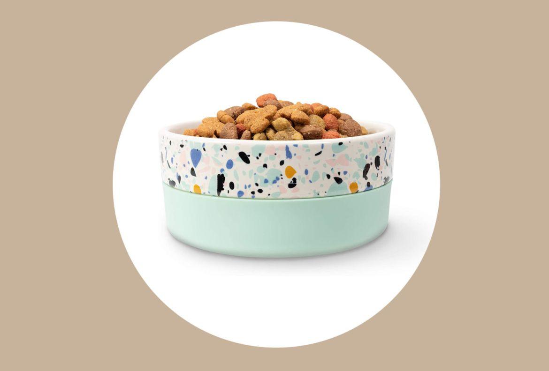 10 formas de unirte a la tendencia e incluir el Terrazzo en tu decoración - tazon-de-ceramica-terrazzo-perro