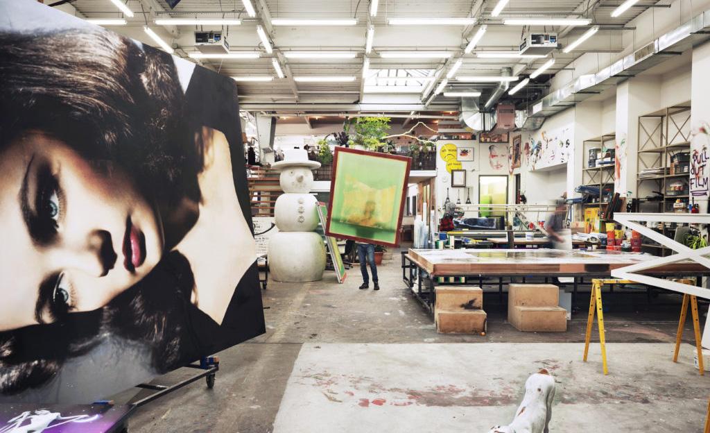 Visita los estudios de los mejores artistas de Nueva York - urs-fischer