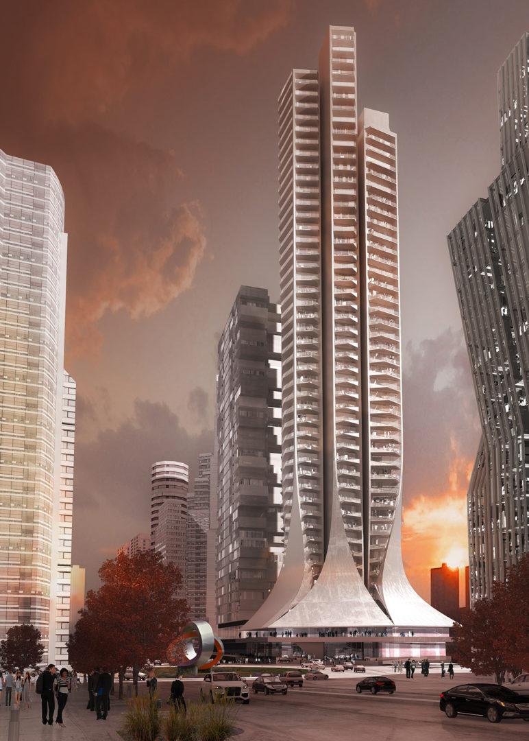 Conoce el edificio que Zaha Hadid diseñó para la Ciudad de México