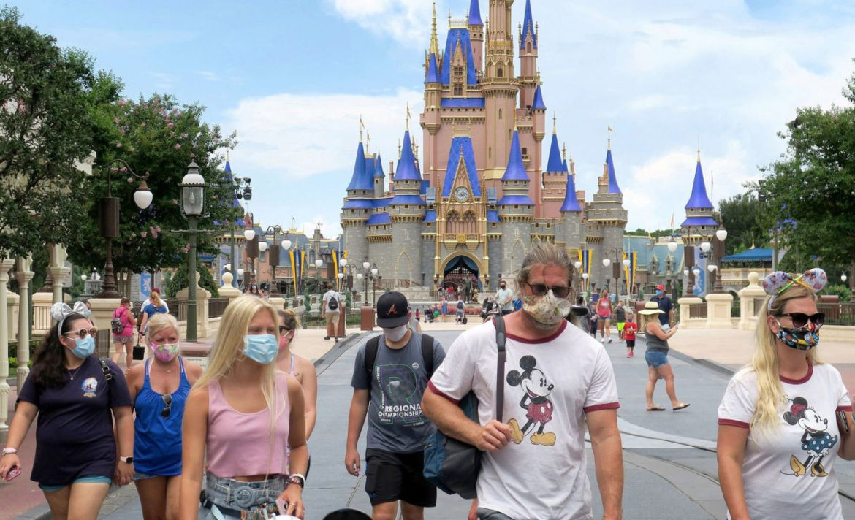 Así es como se ve la reapertura de Disney World - disney