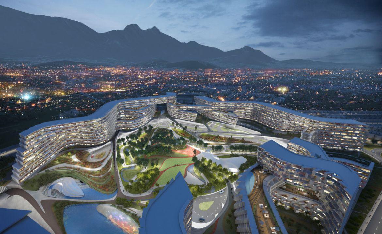 Proyectos arquitectónicos cancelados en México - esfera-city-center