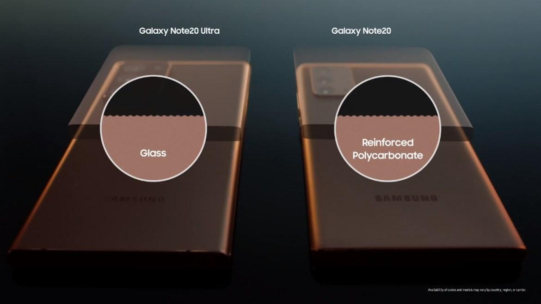 Galaxy Unpacked Event y las 5 sorpresas que amamos, inlcuido el Galaxy Note 20 - vidrio-samsung