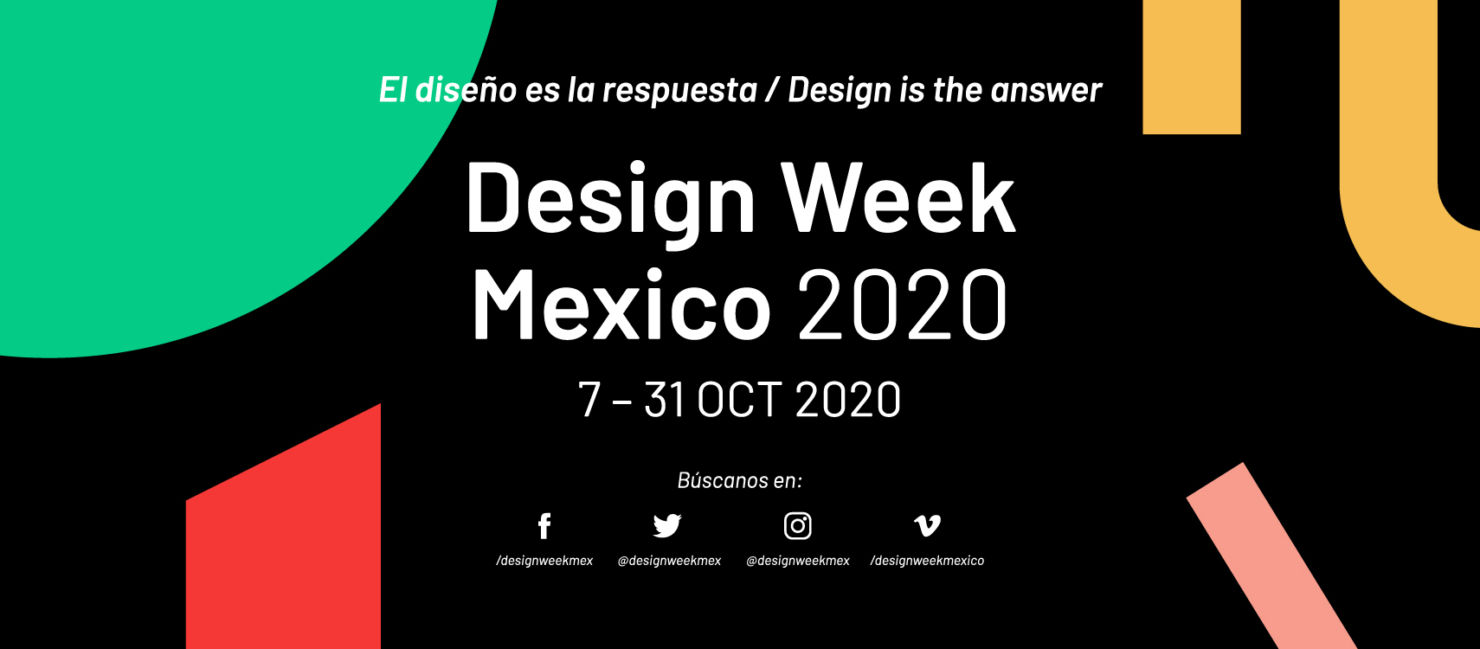 Esto es todo lo que sabemos del Design Week México 2020