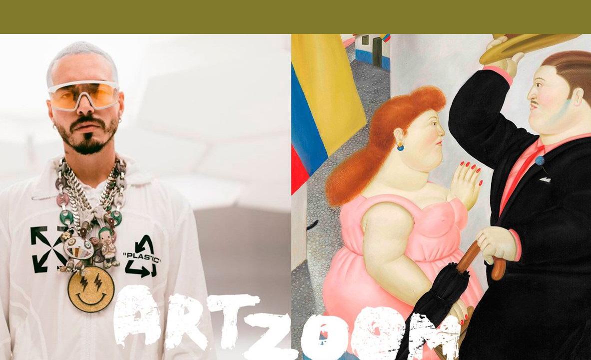 J Balvin, Grimes y más te dan clases de arte por Youtube