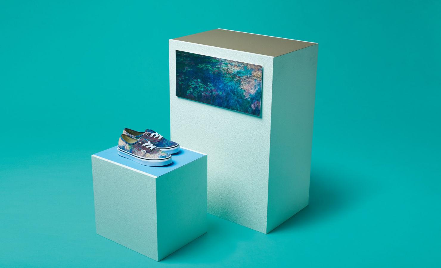 Vans y el MoMa lanzan una edición especial para los amantes del arte