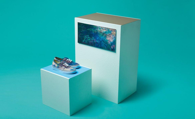 Vans y el MoMa lanzan una edición especial para los amantes del arte - monet-moma-vans
