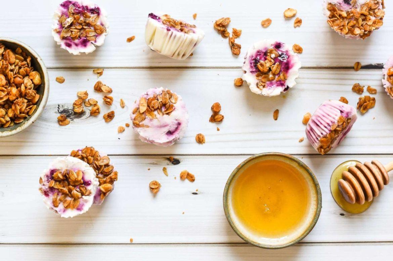 10 recetas healthy para probar este inicio de año - yogurt-bites