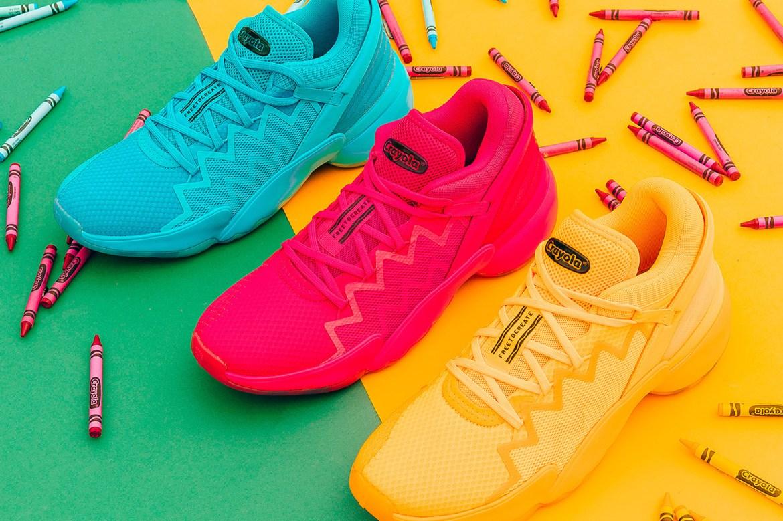 Conoce los nuevos adidas en colaboración con Crayola - crayola-sneakers
