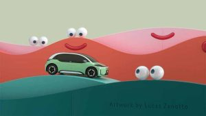 DiDi revela el D1, el primer auto eléctrico exclusivo para su plataforma