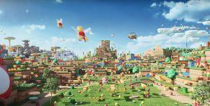 Así luce el parque temático Super Nintendo World en Japón
