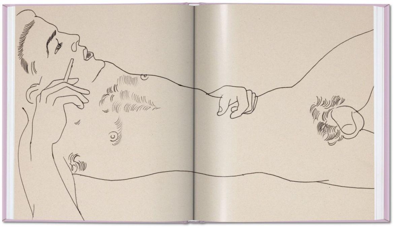 Las obras eróticas de Andy Warhol que tal vez no conocías - warhol_early_drawings_va_int_open001_124_125_05345_2008281327_id_1290109
