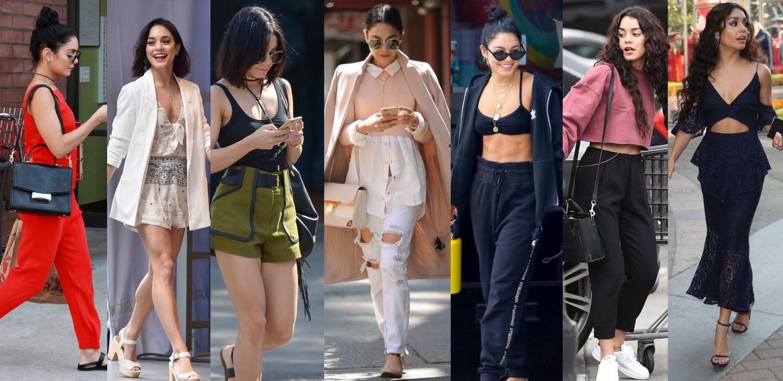 Outfits de Vanessa Hudgens que nos morimos por recrear