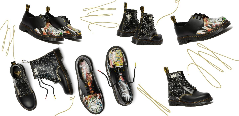 Dr. Martens x Basquiat es la colección que sacará tu lado artístico
