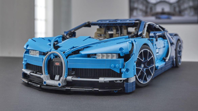 Estos son los mejore autos que puedes armar en LEGO - bugatti-lego