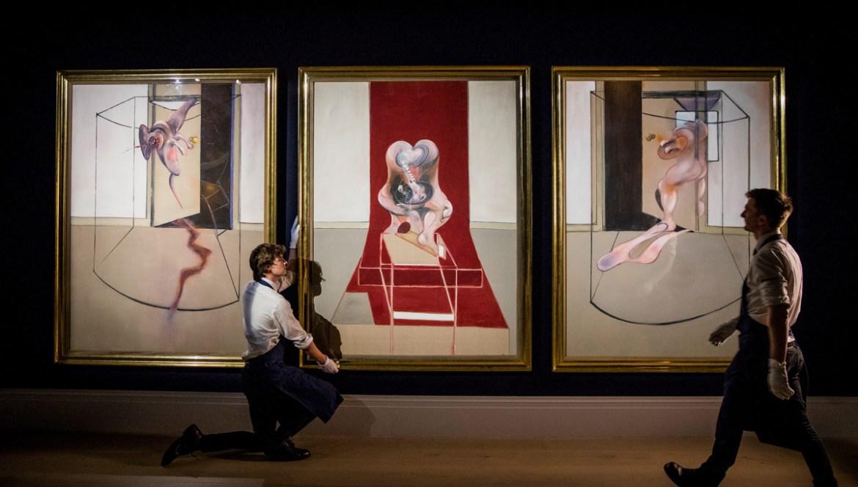 Descubre cuál fue la pintura más costosa vendida en 2020 - francis-bacon-pinturas-1
