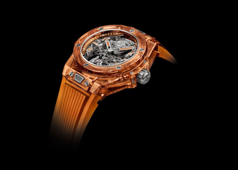 4 relojes que AMAMOS del LVMH Watch Week 2021 - hublot-big-bang-tourbillon-automatic-orange-sapphire