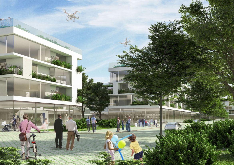 Tirana Riverside, una forma de vivir después del coronavirus - tirana-ciudad-futuro