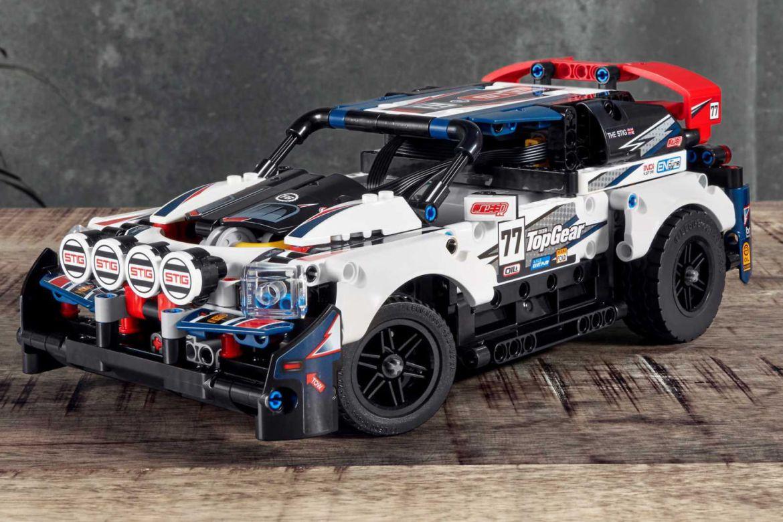 Estos son los mejore autos que puedes armar en LEGO - top-gear-rally-lego
