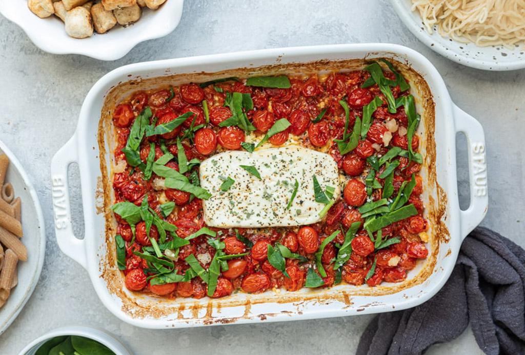 Viral Feta Pasta: súbete a la tendencia con esta fácil receta