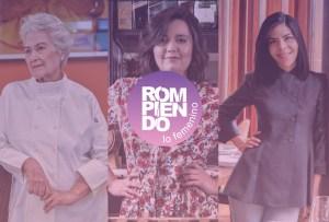 7 mujeres que han definido el mundo de la gastronomía en México