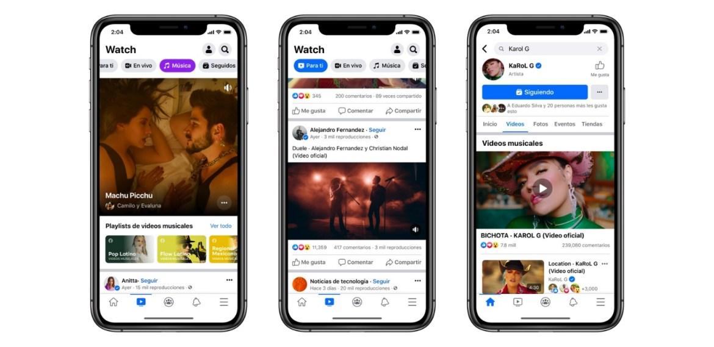 Ahora podrás ver los videos musicales de tus artistas en Facebook - sabrina-56-1