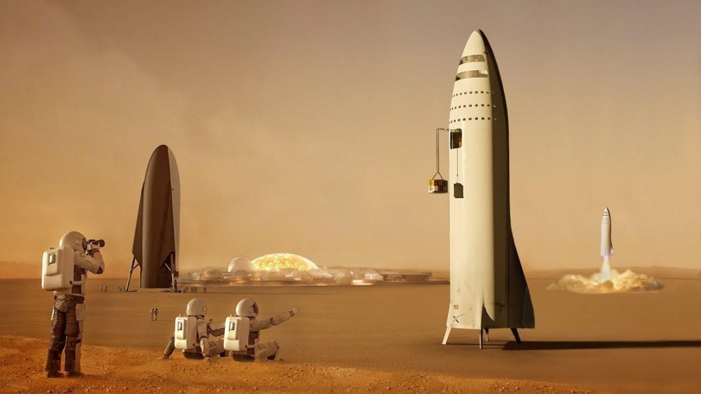 ¿Realmente quisieras vivir en Marte? - spacex