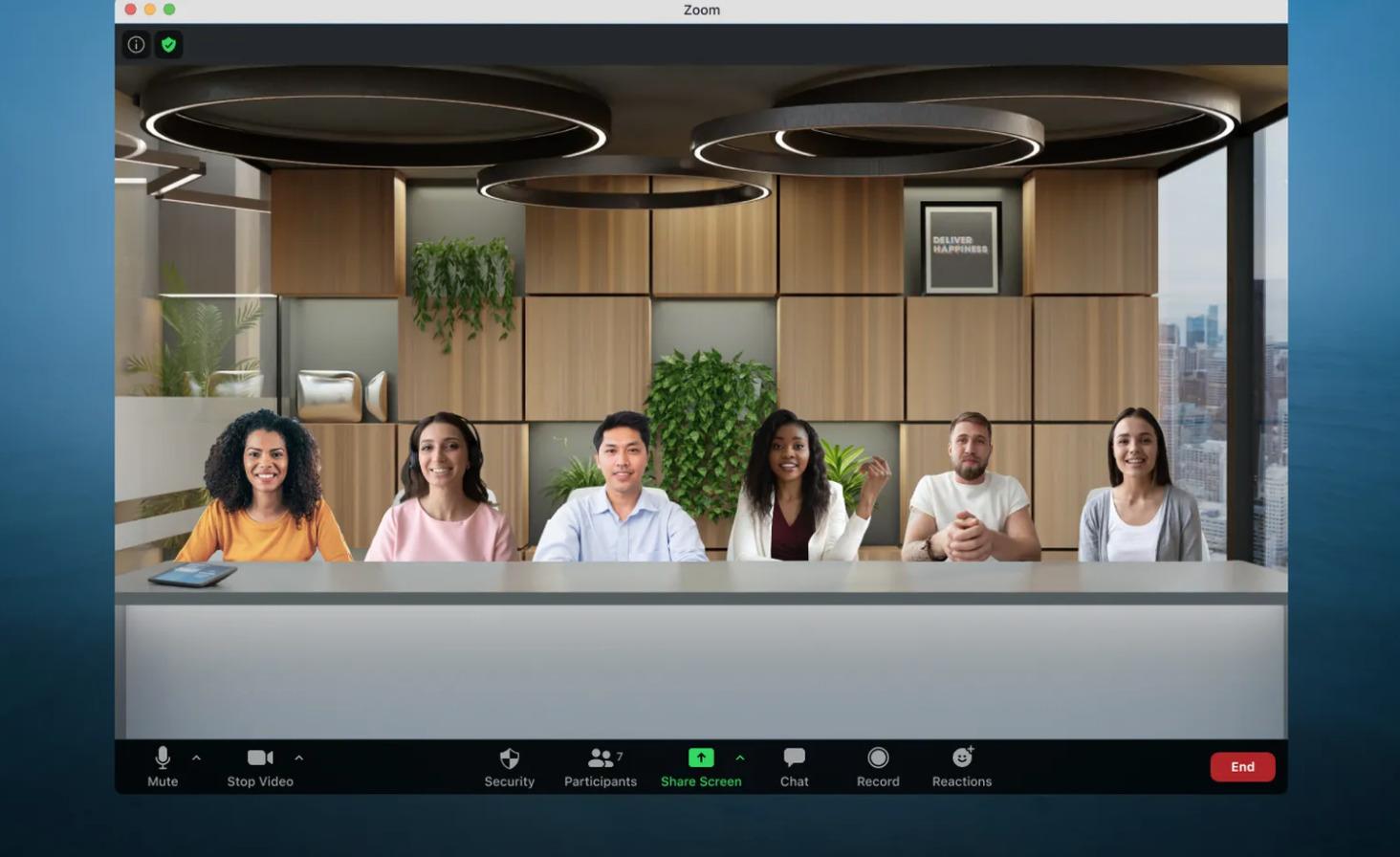 Zoom hará las reuniones inmersivas para que dejes de sentirte solo