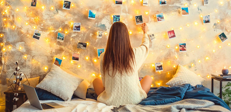 Tendencias de luces para decorar tu cuarto según tu estilo