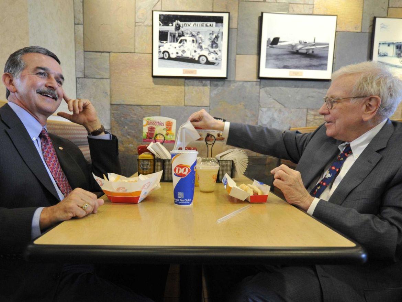 Así es la dieta de Warren Buffett ¿podrías seguirla? - warren-buffett-dieta