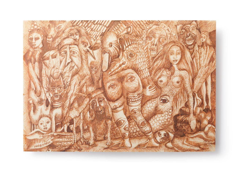 Los sueños de Frida: el mejor libro de la artista que también es una obra de arte - 11-lamina-cenital