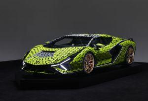 Conoce y maneja el LEGO Lamborghini Sián de tamaño real