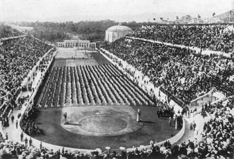 Así es como nacieron los Juegos Olímpicos modernos - atenas-1896