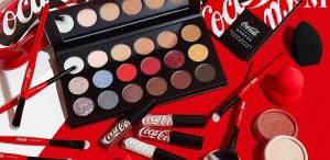Coca Cola x Morphe ¡la colección de maquillaje que te dejará enamorada!