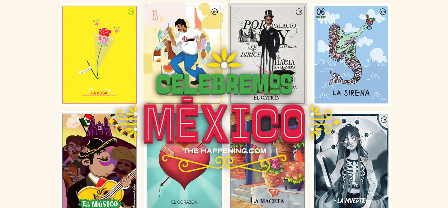 Conoce la Lotería Colaborativa de The Happening con talento mexicano