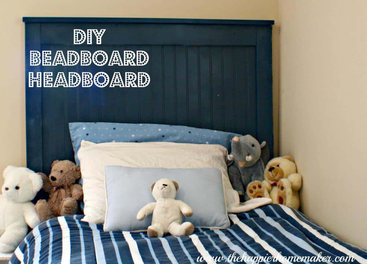 Diy Beadboard Headboard  The Happier Homemaker