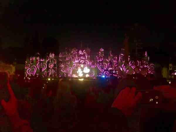Disneyland Valentine Fireworks