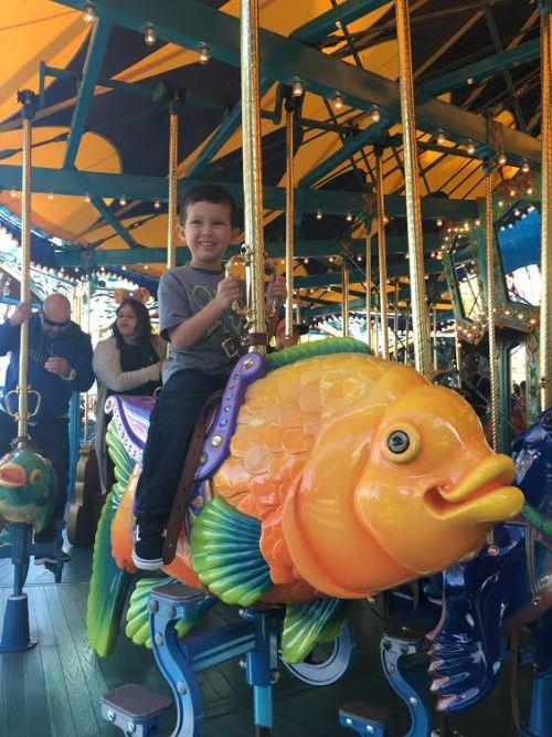 Rider Switch   King Triton Carousel