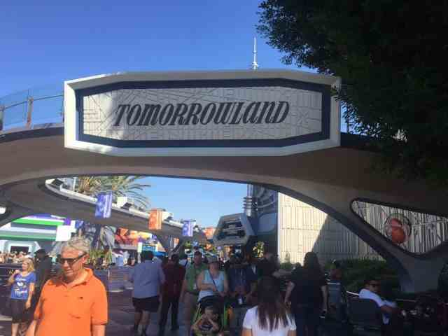 Tomorrowland sign