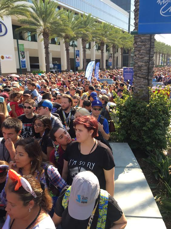 D23 Expo Lines