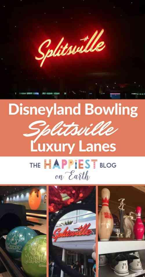 Bowling at Disneyland