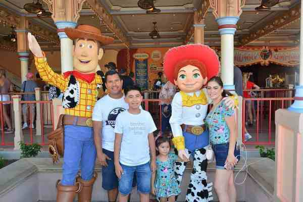 Disneyland Best PhotoPass Spot Toy Story